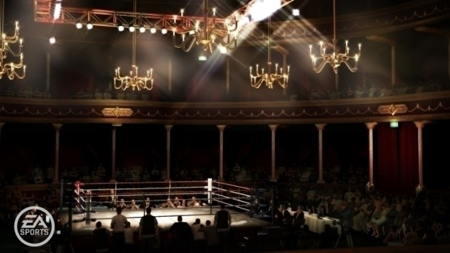 Sportspiel Fight Night Round 4: Festsaal