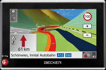 Navigationsgerät: Becker Traffic Assist Z205