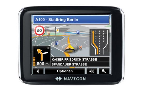 Navigationsgerät: Navigon 2310 MAX Europe