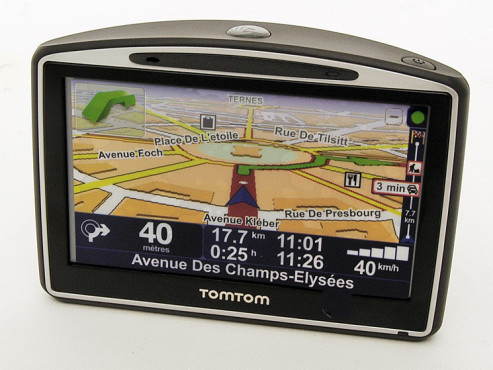 Navigationsgerät: TomTom Go 630 Traffic