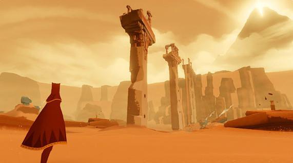 Abenteuerspiel Journey: Wüste