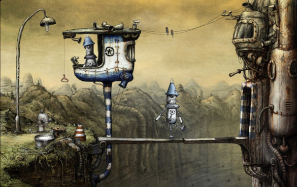 Abenteuerspiel Machinarium © Amanita Designs, Daedalic Entertainment