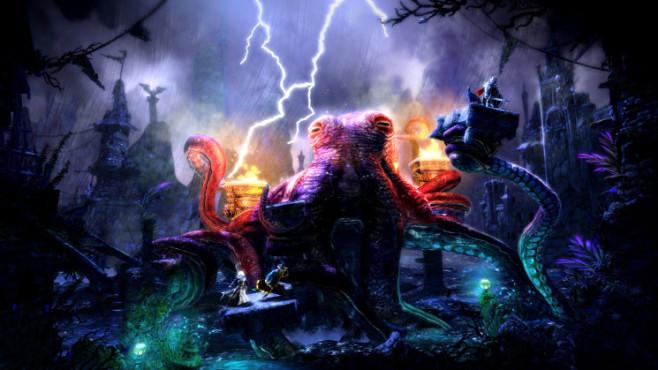 Abenteuerspiel Trine 2: Gewitter ©Frozenbyte