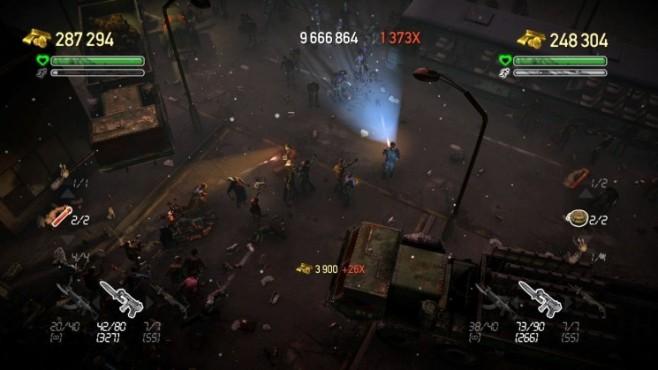 Actionspiel Dead Nation: Taschenlampen