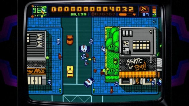 Actionspiel Retro City Rampage