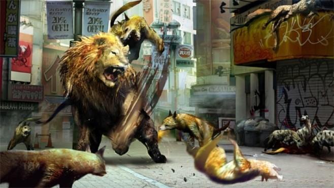 Actionspiel Tokyo Jungle