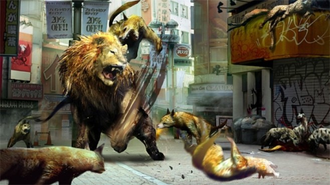 Actionspiel Tokyo Jungle ©Sony