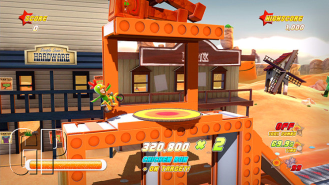 Download-Spiele f�r PS3: Joe Danger © Hello Games