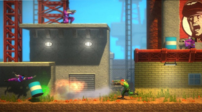 Download-Spiele für Playstation 3: Bionic Commando – Rearmed