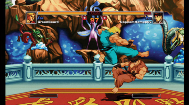 Download-Spiele für Playstation 3: Street Fighter © Capcom