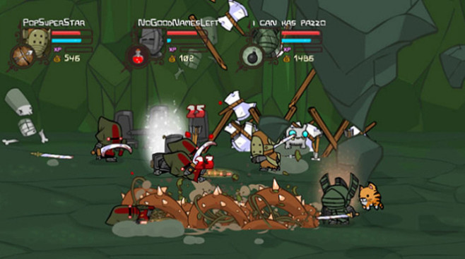 Gute Download-Spiele f�r PS3: Castle Crashers ©Sony