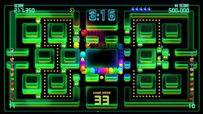 Gute Download-Spiele f�r PS3: Pac-Man Championship Edition DX ©Namco Bandai