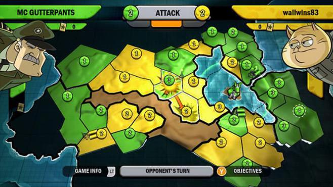 Gute Download-Spiele f�r PS3: Risiko � Fraktionen ©Ubisoft