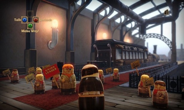 Gute Download-Spiele für PS3: Stacking ©THQ