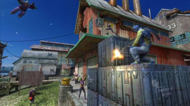 Online-Actionspiel Gotham City Impostors: Haus