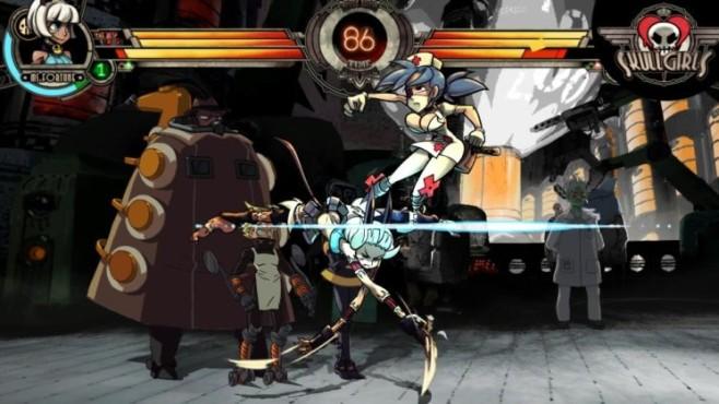 Prügelspiel Skullgirls ©Konami