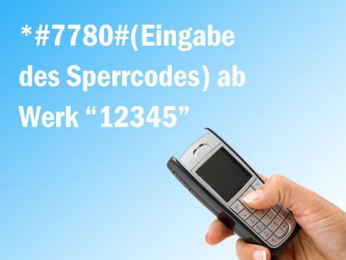 Handycodes: Zur�cksetzen der Einstellungen ©majivecka, Laschi - Fotolia.com