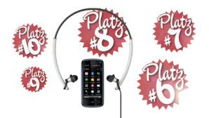 Video: Musik-Handys (Plätze 10 bis 6)