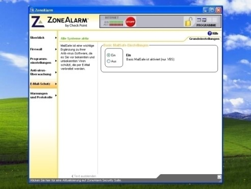 ZoneAlarm: Malware