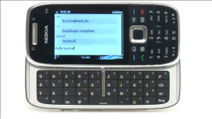 Video zum Test: Testsieger Handy Nokia E75