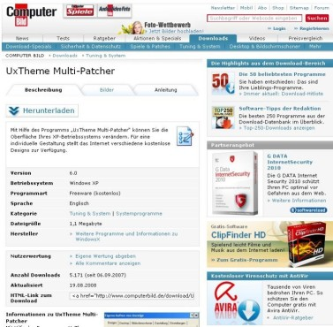 UxTheme Multi-Patcher: Download