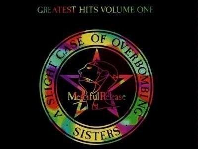 CD-Cover: Sisters of Mercy – A Slight Case of Overbombing / Greatest Hits Volume One
