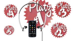 Video: Musik-Handys (Plätze 5 bis 1)