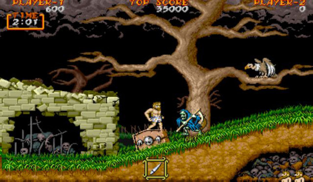 Ghouls n Ghosts © Capcom