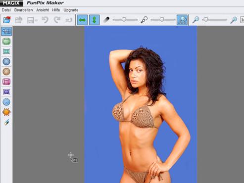 Model im Bikini: Digital nachbearbeitet ©© Guido Thomasi - Fotolia.com