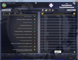 Screenshot 1 - Dirks kostenloser Fussballmanager