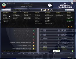 Screenshot 3 - Dirks kostenloser Fussballmanager