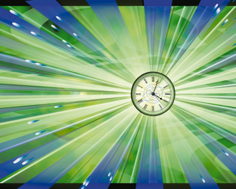 Clockdesktop Atomic Clock Screensaver 3.1: Bildschirmschoner