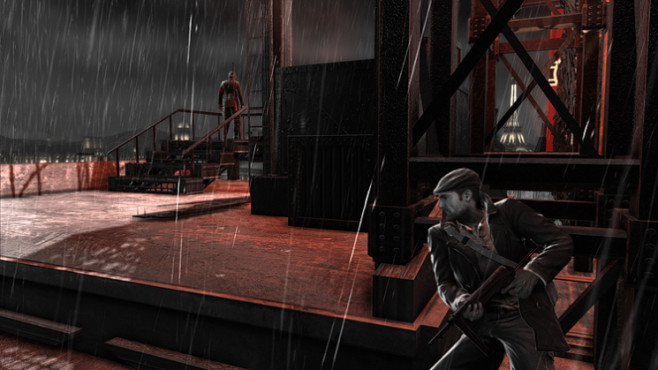 Actionspiel The Saboteur: Regen