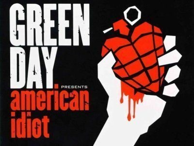 CD-Cover: Green Day – American Idiot
