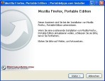 Firefox Portable: Installation