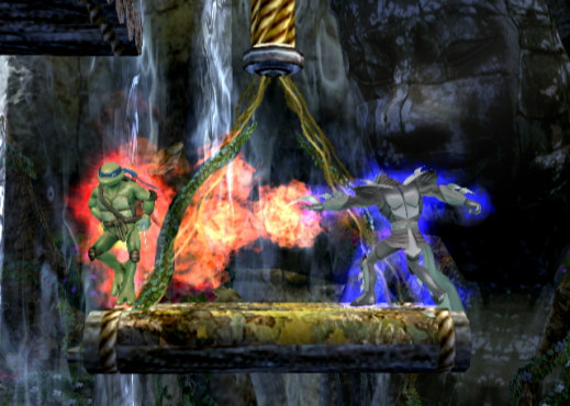 Prügelspiel Teenage Mutant Ninja Turtles Smash-Up: Online
