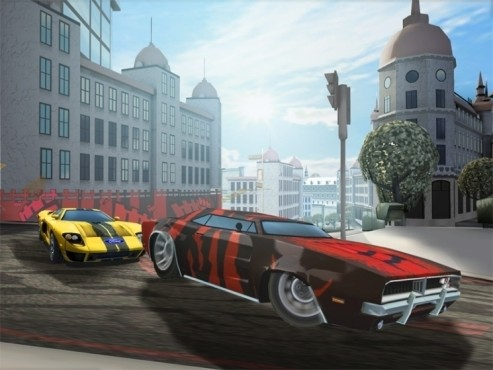 Rennspiel Need for Speed – Nitro: Reifen