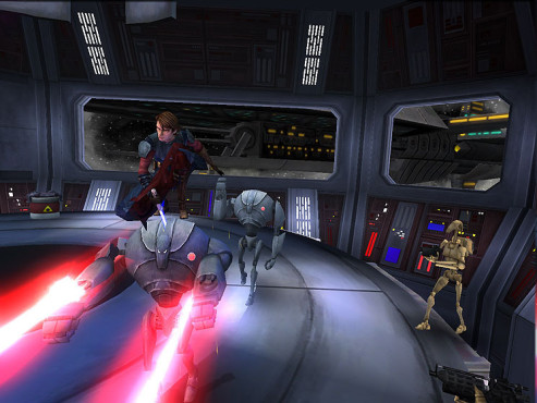 Actionspiel Star Wars – The Clone Wars – Republic Heroes: Effekte