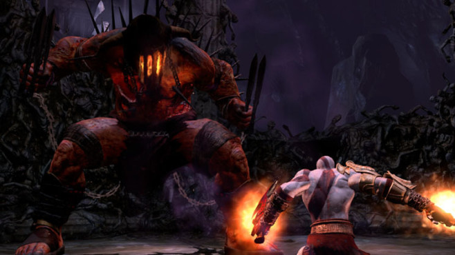 Actionspiel God of War 3: Duell