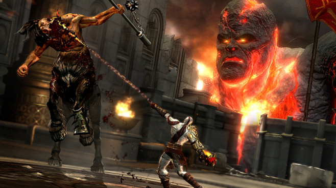 Actionspiel God of War 3: Titanen