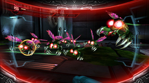Actionspiel Metroid – Other M: Insekten © Nintendo