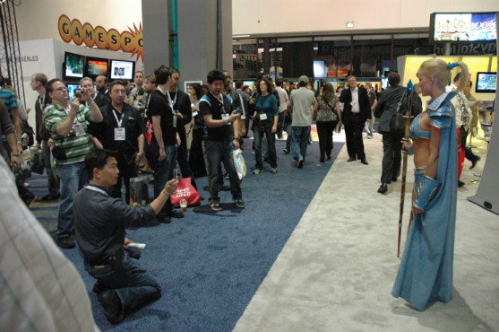 E3 2009 in Los Angeles: Fotografen