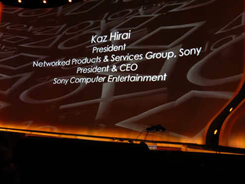 E3 2009 in Los Angeles: Kaz Hirai