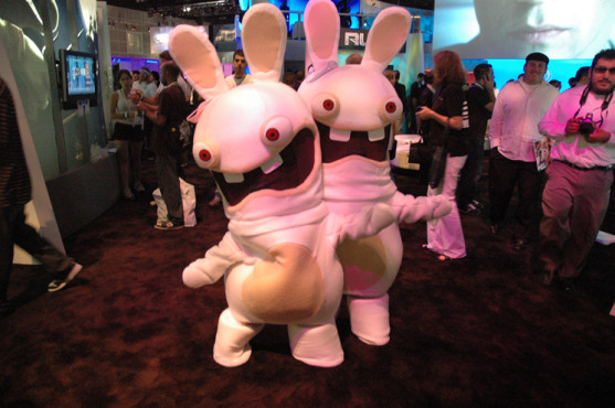 E3 2009 in Los Angeles: Rabbids