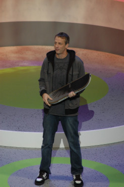E3 2009 in Los Angeles: Tony Hawk
