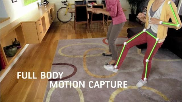 Microsoft Kinect: Demonstration © Microsoft