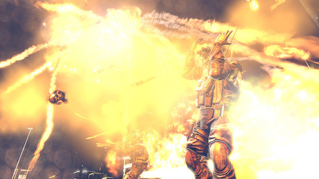 Actionspiel Homefront: Feuer © THQ