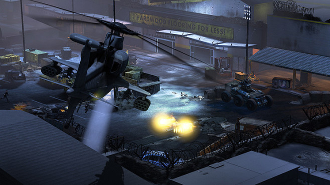 Actionspiel Homefront: Heli © THQ