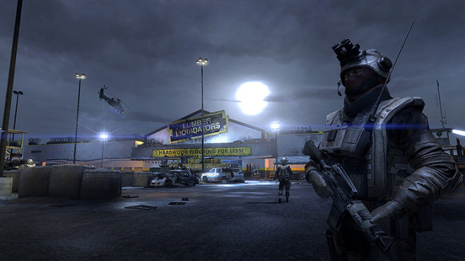 Actionspiel Homefront: Mall © THQ