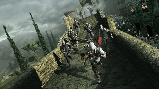 Actionspiel Assassin's Creed 2: Burgmauer